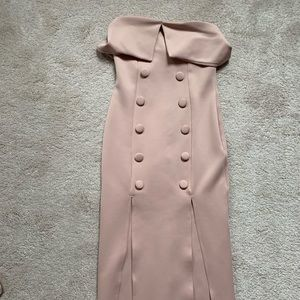Beautiful, blush midi dress